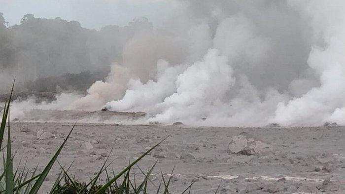 Sungai Lau Borus Keluarkan Uap Panas, Ini Penjelasan PVMBG