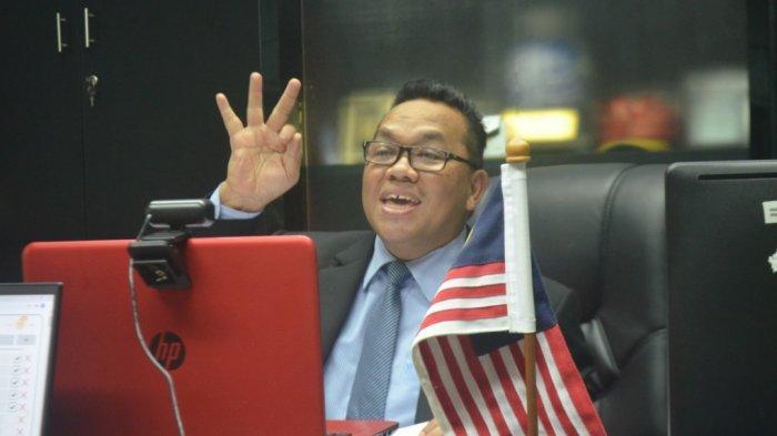 Konsul pelancongan Malaysia Medan, Hishamuddin Mustafa