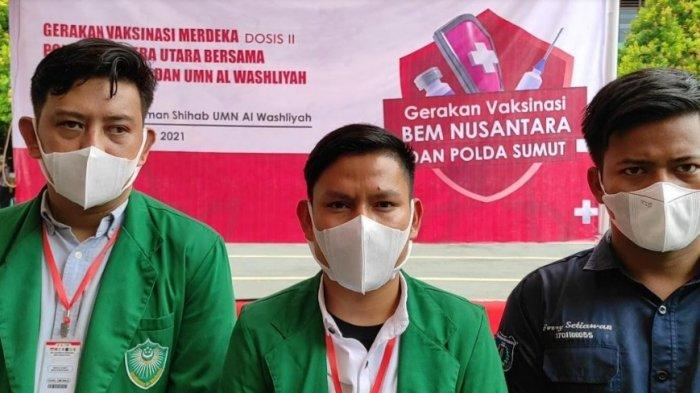 PERSIAPAN sebelum Belajar Tatap Muka, BEM Nusantara Gelar Vaksinasi Tahap Dua