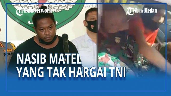 Koordinator mata elang alias debt collector yang menghakimi Babinsa TNI AD Serda Nurhadi, Hendrik Liatongu, meminta maaf.