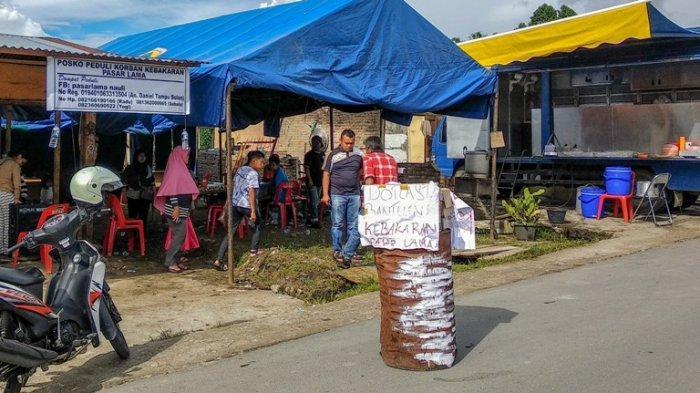Korban Kebakaran Pasar Lama Sidikalang Berharap Bantuan Material Bangunan