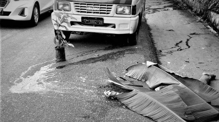 Bagian Kepala Dilindas Mobil, Warga Medan Johor Tewas di Tengah Jalan Kawasan Sibolangit