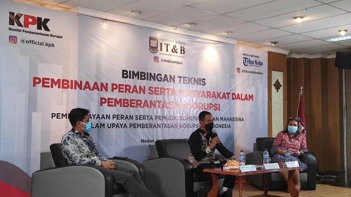 KPK RI Ajak Mahasiswa IT&B Ikut Berantas Korupsi