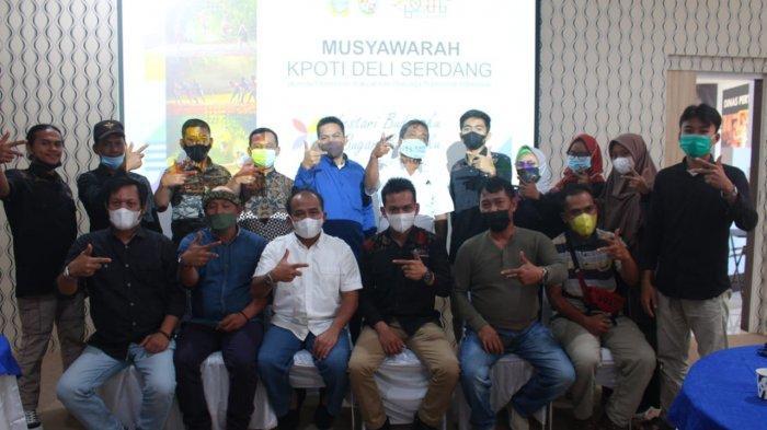 OK Alamsyah Terpilih Sebagai Ketua KPOTI Kabupaten Deliserdang