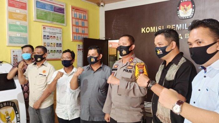 Jelang Pendaftaran Balon Wali Kota, KPUD Binjai Koordinasi Rutin dengan Polres dan Kodim