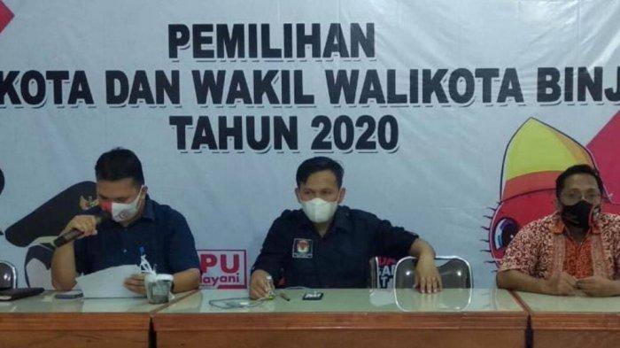 Debat Pilkada Binjai, KPU Larang Tim Paslon Bawa Atribut Kampanye