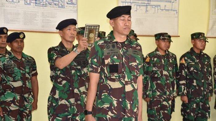 Mayor Laut (P) Heri Oktavian, M. Sc Jabat Komandan Sekolah Kapal Selam Kodiklatal.