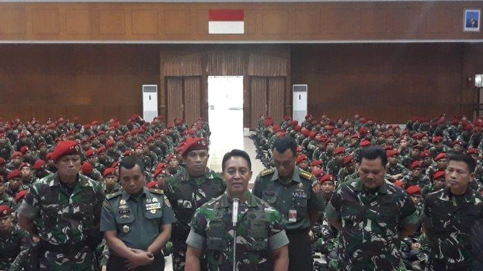 KSAD Jenderal Andika Angkat Bicara Sasar 108 Jenderal Purn Dukung Prabowo-Sandi Tolak Hasil Pilpres