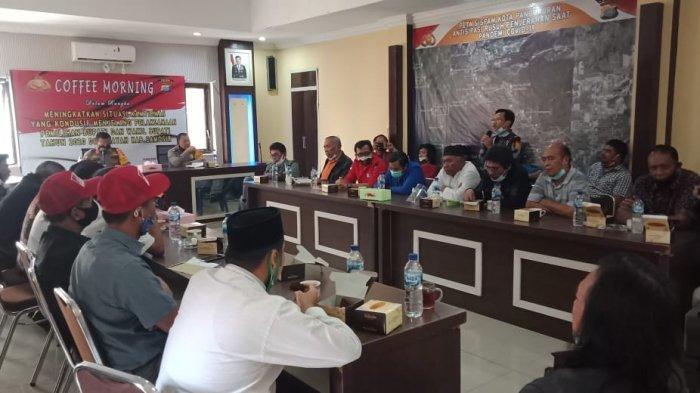 Jelang Pilkada, Kapolres dan OKP di Samosir Ajak Warga Kembali ke Konsep Dalihan Natolu