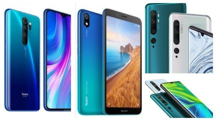 KUMPULAN Smartphone Xiaomi, Samsung Galaxy, Vivo hingga Oppo, Simak Spesifikasi Ponsel Sebelum Beli