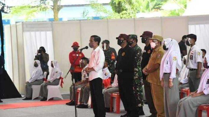 Pelajar Deliserdang Tetap Senang Meski Hanya 20 Menit Bertemu Presiden Jokowi