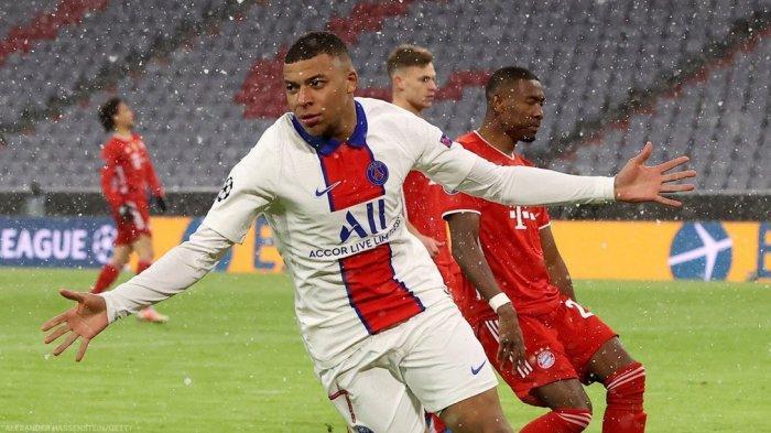 UPDATE Hasil Bayern Munchen Vs PSG - Kylian Mbappe Bikin 8 Gol, Samai Rekor Legenda Juventus