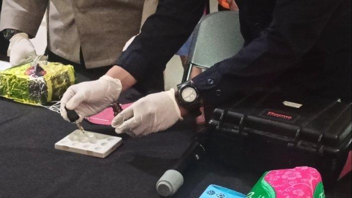 Oknum Polisi Briptu SR yang Bertugas di Polres Tapsel Ditangkap Kapolsek Padang Bolak karena Narkoba