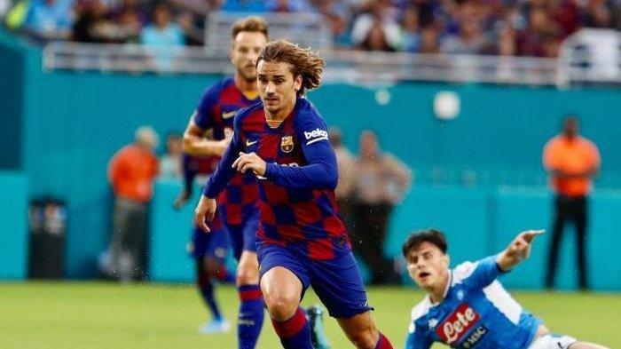 Tanpa Lionel Messi, Barcelona Menang 2-1 atas Napoli, Griezmann Cetak Gol, Laga Lanjut Hari Ini