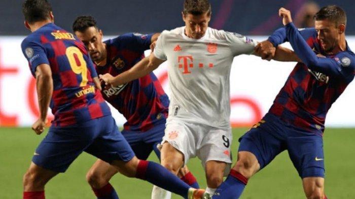LIVE Streaming Big Match Barcelona vs Bayern Munchen, Nagelsmann Sebut Blaugrana Kehilangan Sosok