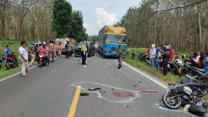 Pulang dari Kampus, Dimas Tabrak Fortuner Polisi di Tapian Dolok, Korban Tewas di Tempat