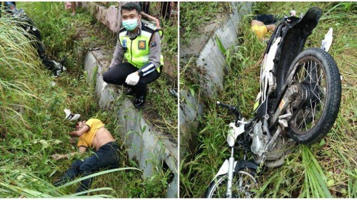 Kecelakaan di Simalungun, Pengendara Motor Ditemukan Tewas di Parit