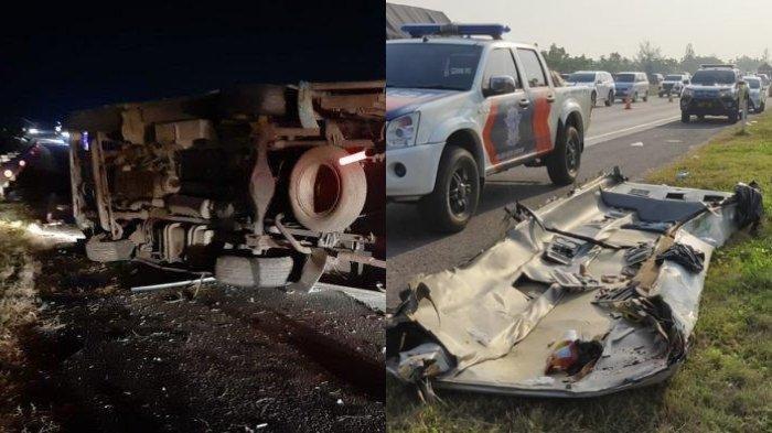LAKALANTAS Maut Tol Cipali Renggut 8 Nyawa selepas Toyota Rush dan Minibus Travel Bertabrakan