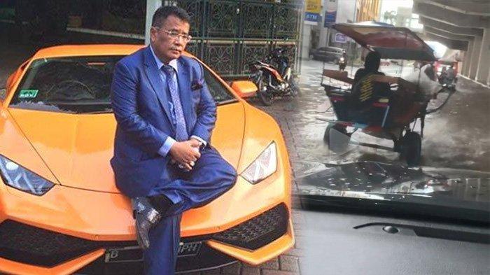 Hotman Paris Kesal Lamborghini Terendam Banjir: 'Welcome to Jakarta, the Metropolitan City!'