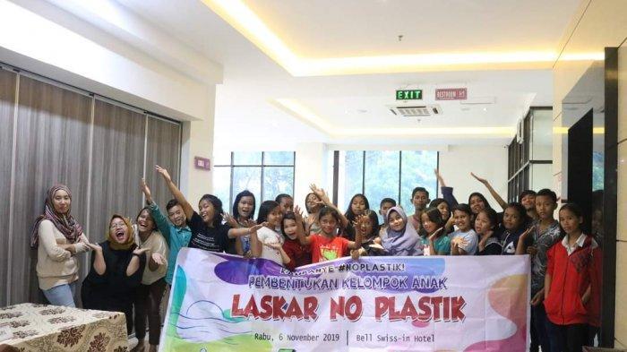 PKPA Medan Bentuk Laskar No Plastik, Edukasi Anak Mengenai Isu Sampah Plastik di Masa Pandemi