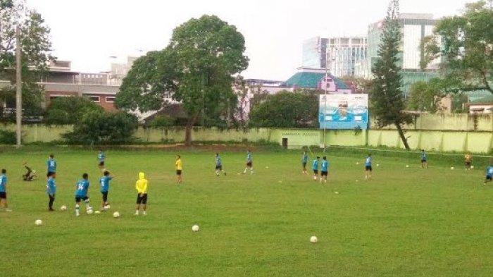 HUJAN Deras Melanda, PSMS Medan Sudahi Latihan Finishing Touch