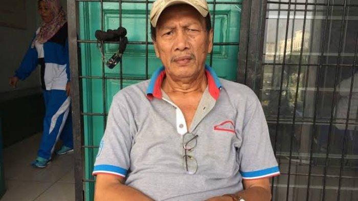 Foto semasa hidup legenda PSMS Medan Parlin Siagian