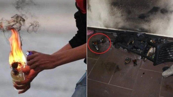 Pelaku Teror Bom Molotov berkeliaran, Polsek Binjai Selatan tak Mampu Tangkap Pelaku