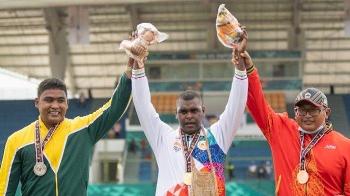Kalah 8 Cm, Atlet Lempar Cakram Hardodi Sihombing Harus Puas Raih Medali Perak