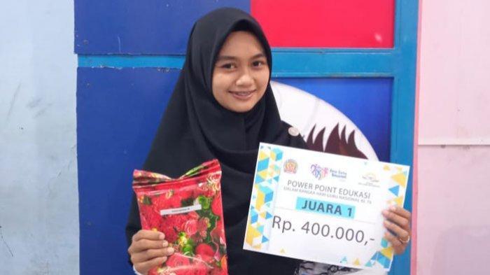 Kado Indah Hari Guru, Pengajar di SMK Multi Karya Medan Ini Raih Juara 1 Power Point Edukasi Terbaik