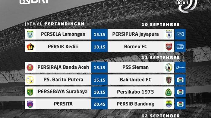 JADWAL Tayang Liga 1 Pekan Ini, Barito Putera vs Bali United, Persija Vs PSIS, Live Indosiar