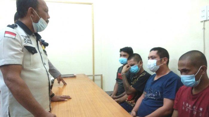 Ini Wajah Para Preman yang Mengamuk Aniaya Warga Hingga Cacat di RSU Kabanjahe