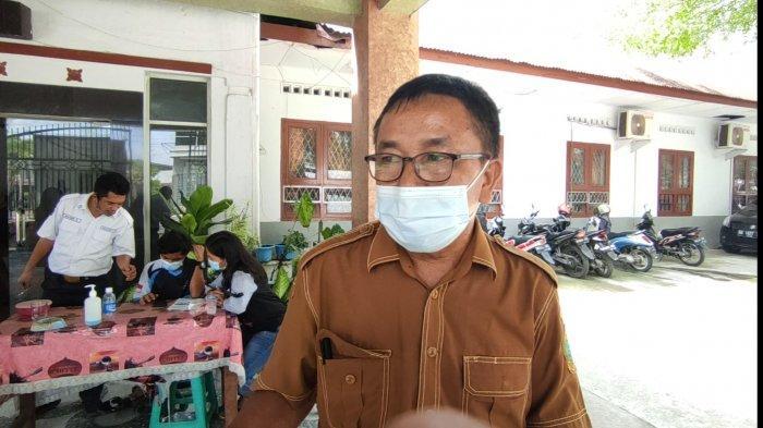 Lindung Pakpahan wakil kepala sekolah bidang kesiswaan SMA Negeri 5 Medan.