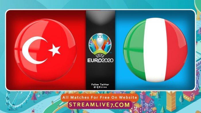 SEDANG BERLANGSUNG Duel Turki Vs Italia Euro 2020, Akses Di Sini Nonton Live Streaming Gratis