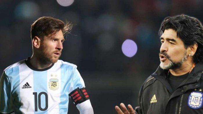 Bela Lionel Messi, Maradona Naik Pitam Bilang Pengelola Timnas Argentina tak Ngerti Bola