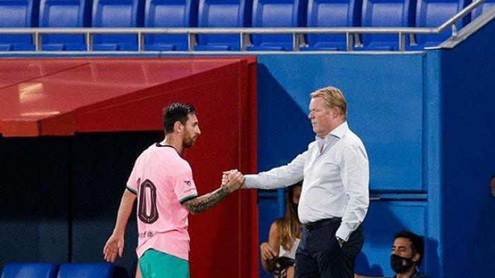 RONALD Koeman Was-was Masa Depan Lionel Messi, Tunggu Teken Kontrak Baru Di Barcelona