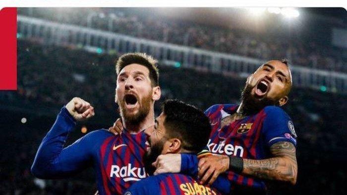 Lionel Messi Peroleh Penghargaan, Gol ke Gawang Liverpool Dinobatkan Terbaik oleh UEFA