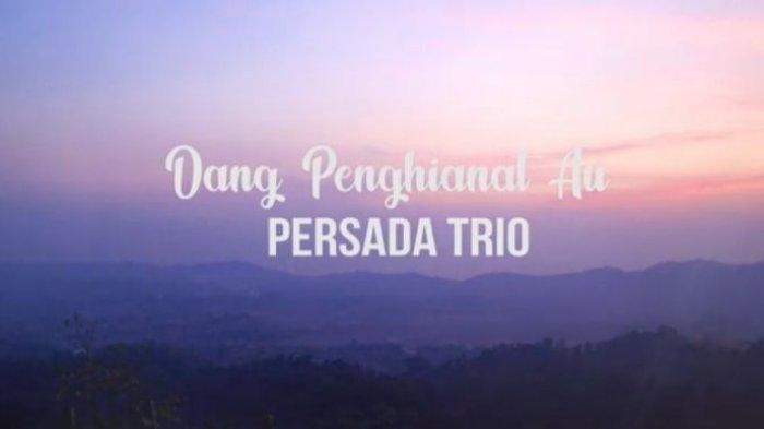 Lirik Lagu Batak Dang Penghianat Au dari Permata Trio