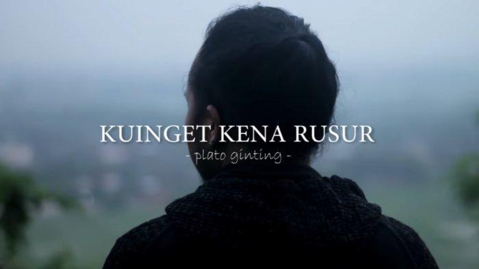 Lirik Lagu Karo Kuinget Kena Rusur by Plato Ginting