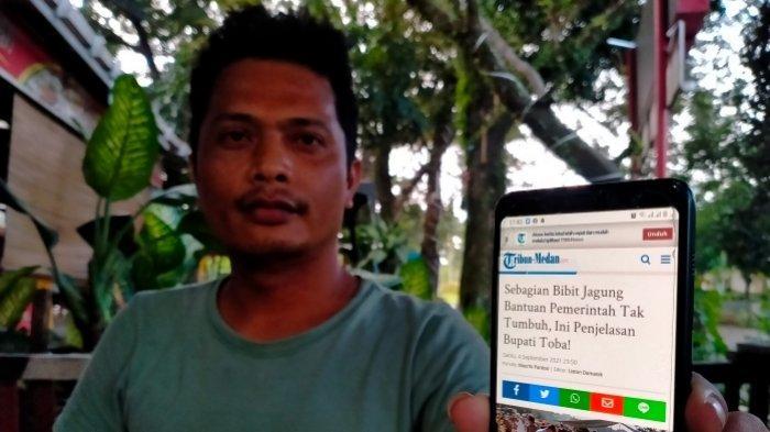 Liston Hutajulu, tokoh pergerakan rakyat di Sumut mengkritisi soal pengadaan jagung di Kabupaten Toba yang dianggap carut marut.