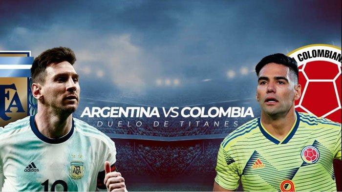 Live Streaming Conmebol Argentina vs Kolombia, Uji Coba Messi dkk Sebelum Laga Copa America 2021