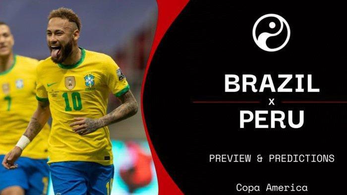 Live Streaming Gratis Brasil vs Peru, Final Copa America 2019 Terulang Kembali di Copa America 2021
