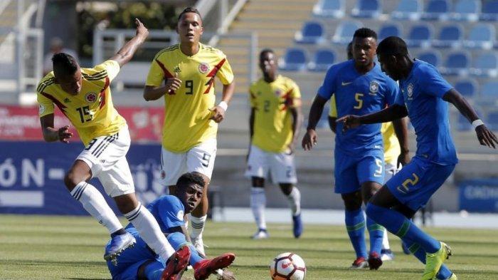 LIVE STREAMING Kolombia vs Brasil Pagi Ini, Siaran Langsung Saksikan Link Live Streaming di Ponsel