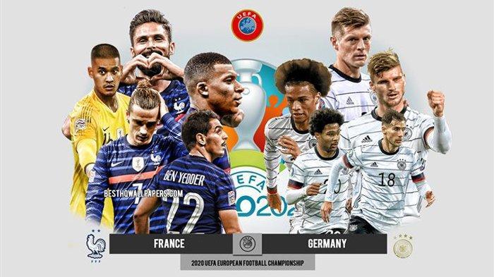 Live Streaming Prancis VS Jerman