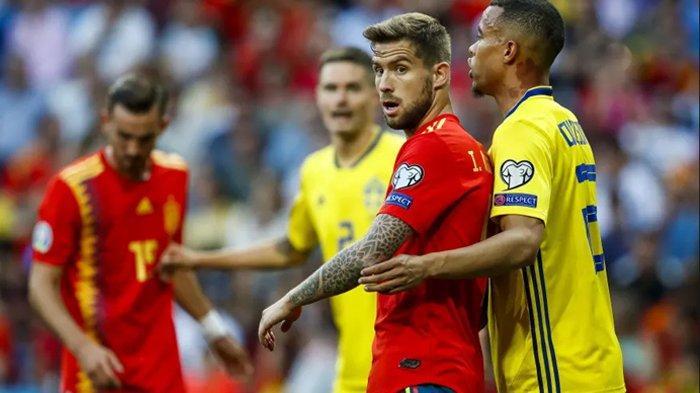 Live Streaming Spanyol Vs Swedia, Big Match Grup E UERO 2020