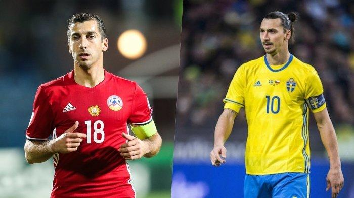 Live Streaming Swedia vs Armenia, Kick Off Malam Ini Pukul 01:45 WIB