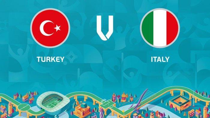 Live Streaming Turki Vs Italia, Laga Pembuka UERO 2020