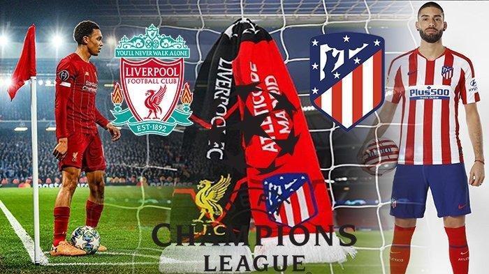 LIVE BOLA: Live Streaming Atletico Madrid vs Liverpool, Siaran Langsung Link Live Liga Champions