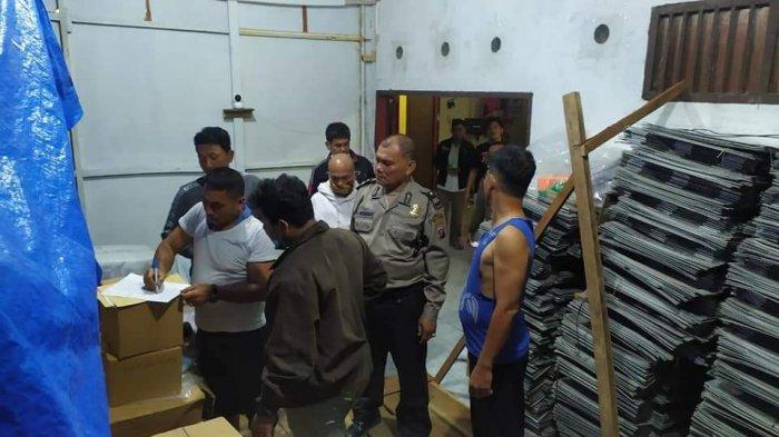Logistik Pilkada Binjai Diawasi Khusus Plus CCTV di Gudang KPUD