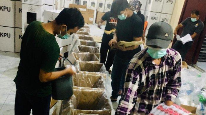 Logistik Pilkada Binjai Mulai Disalurkan ke 37 Kelurahan