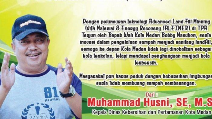 HUT ke-431 Kota Medan, M Husni: Medan Terapkan Teknologi ALFIMER untuk Pengelolaan Sampah